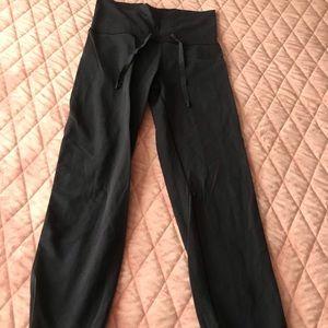 LULULEMON- High Rise Elastic Cuff Pants (Sz.6)